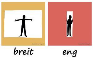 breit_eng_Adjektive_Gegensatzpaare_deutschlernerblog
