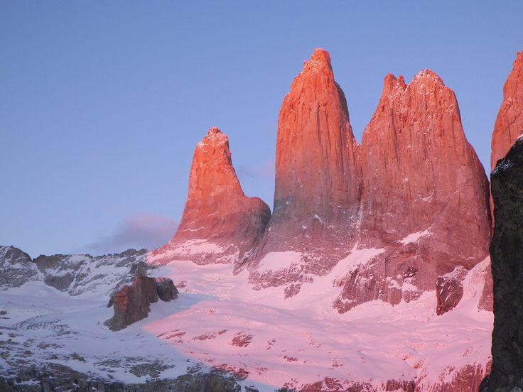 Día - 7 - amanecer base torres del paine 06.00 am