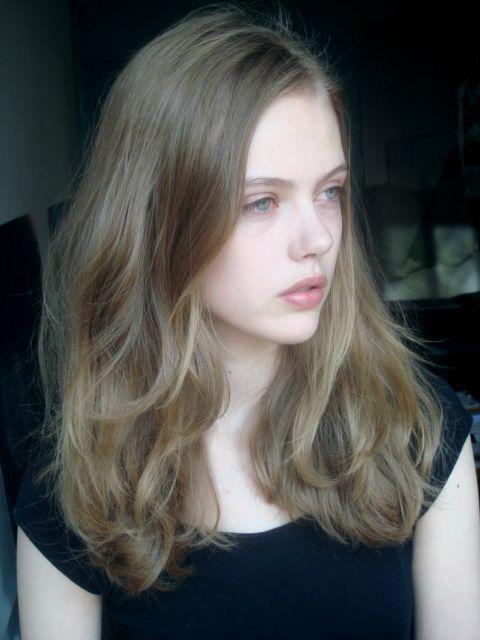Ash medium dark blonde. Exactly my natural hue.