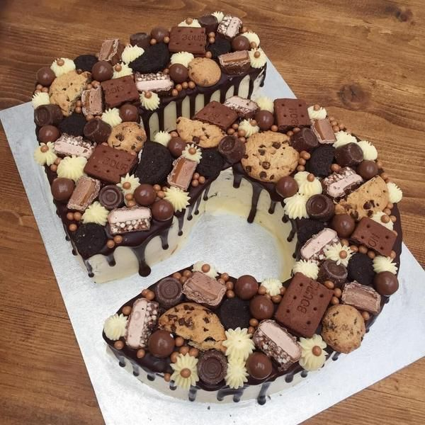 Number Cake |Chocolate Cookie Birthday Cake | Anges de Sucre                         – Anges de Sucre