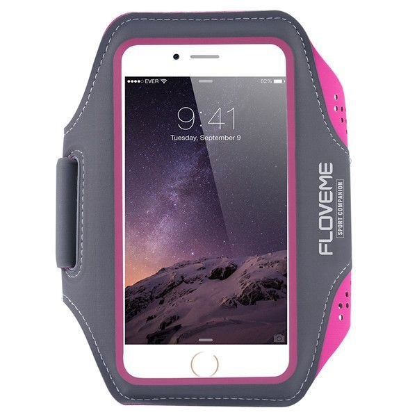"""FLOVEME Universal Sports Running Armband Case 4.7"""" For iPhone 6 6S 5 5S SE For Samsung Galaxy S3 mini S4 mini For Huawei P2 P6"""