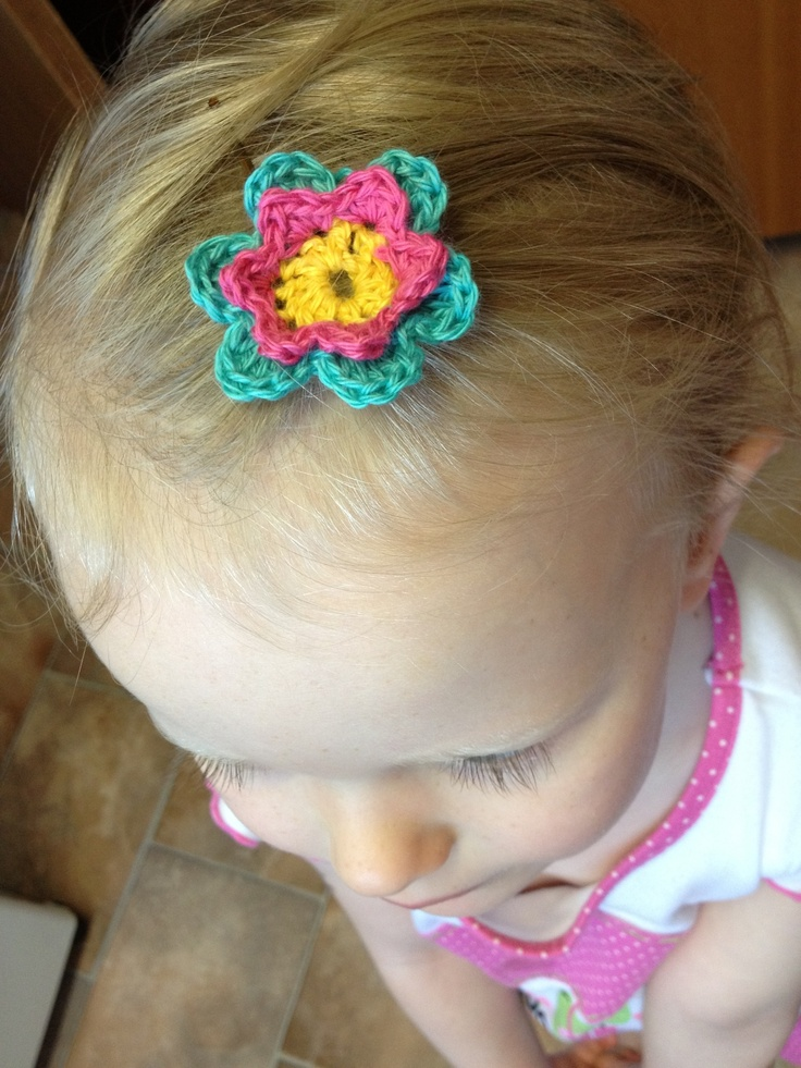 flowery clip - pattern from Attic24