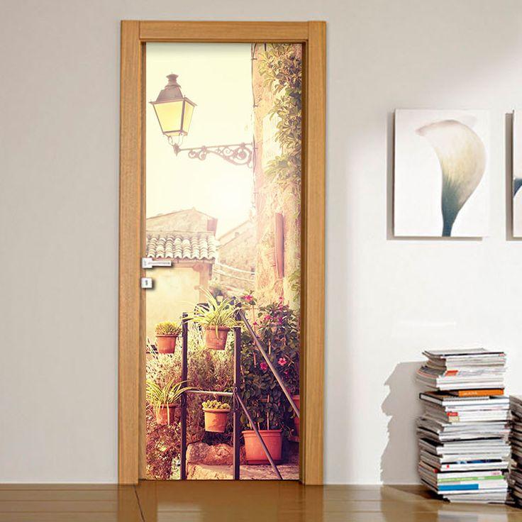 Μαγιόρκα, Ισπανία - Αυτοκόλλητο πόρτας houseart