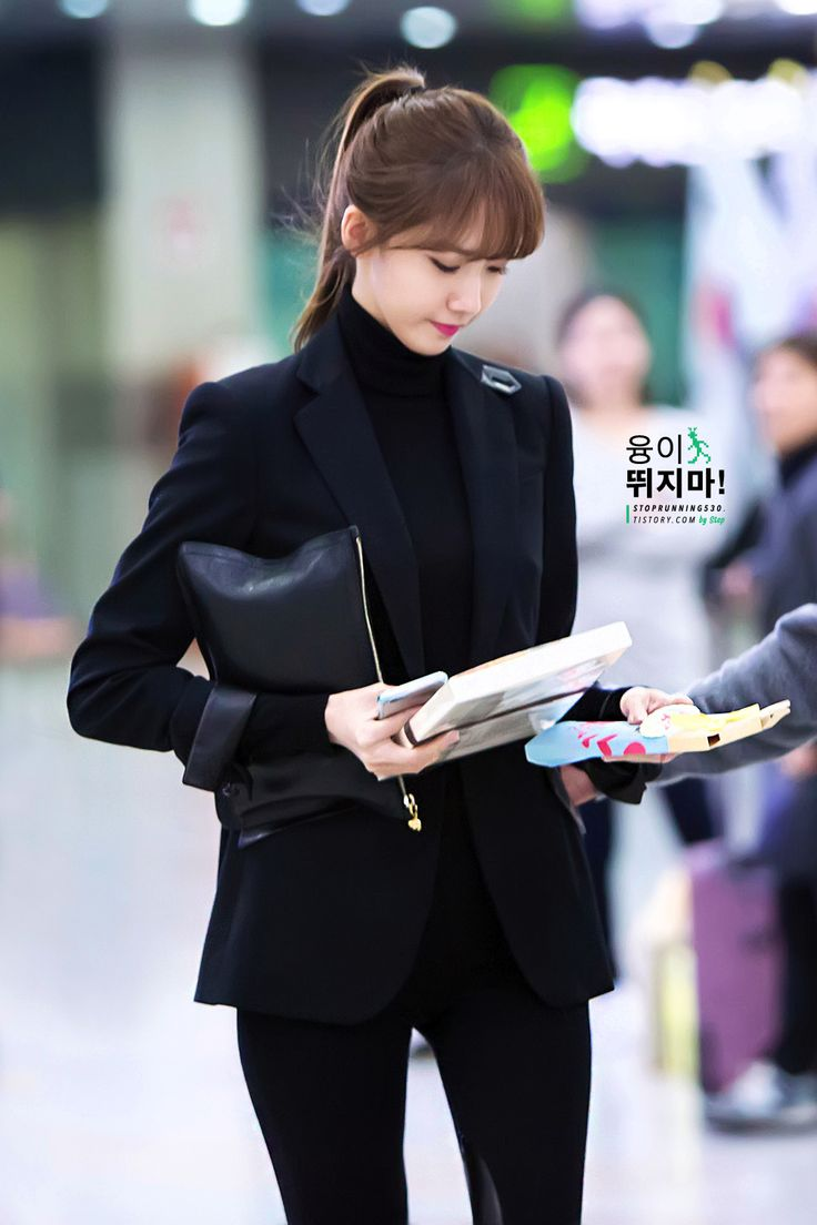 141107 yoona's airport fashion
