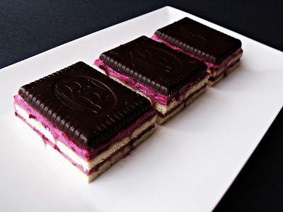 Citromhab: Kekszes sütemény szederrel