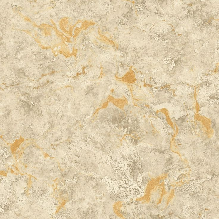 Pear Tree Interiors Polished Stone Gold Wallpaper
