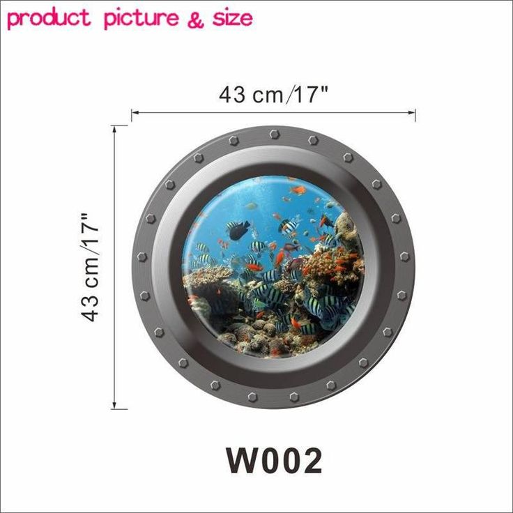 Fantastic Submarine Portholes Wall Sticker - Style 3 (Free Shipping) - Simply Adore