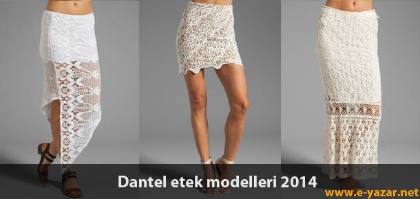 Dantel etek modası, kombinleri bu yıl moda sektöründe en çok yükselenler arasına girmeyi başaran ürün gruplarından bir tanesi. Ünlü modacılar, stilistler, ve markaların 2014 sonbahar/kış koleksiyonlarında dantel eteklere çok daha fazla yer verildiğini görünce, hemencik erkenden takipçilerim ile ... http://www.e-yazar.net/dantel-etek-modelleri-ve-kombinleri/