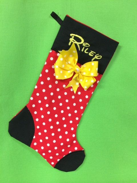 Affordable Custom Disney Christmas Stockings For The Whole Family