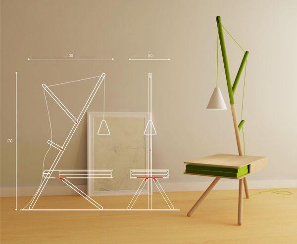 RE:LIGHT by Presek Design Studio , via Behance