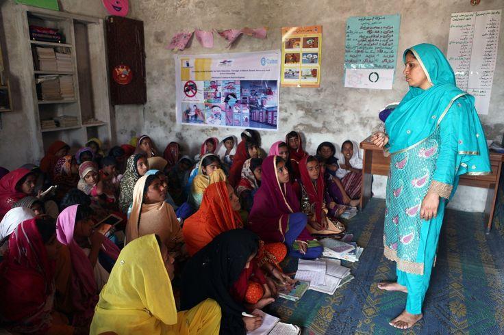 5 stories of girls' education in #Pakistan. (Photo: Irina Werning/Oxfam)