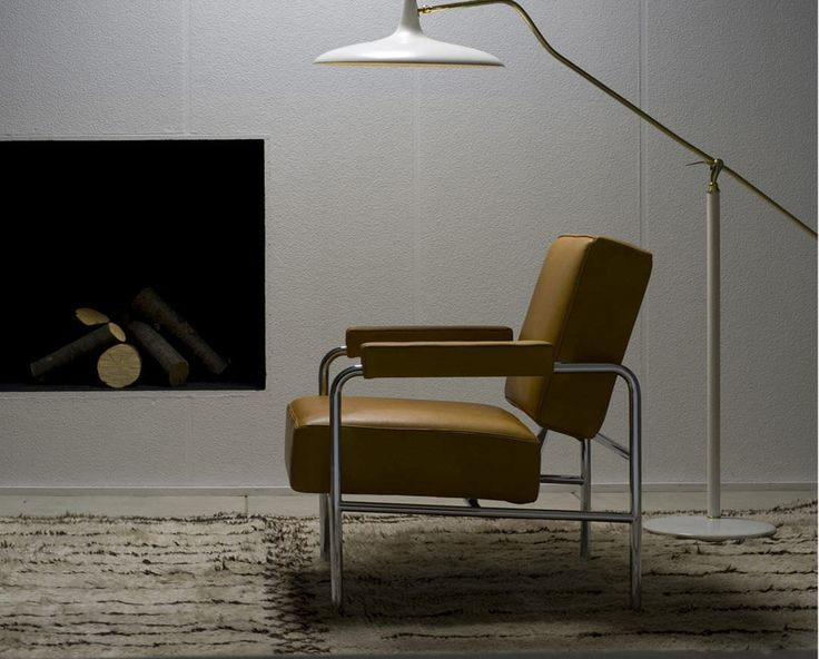 fauteuil contemporain par le corbusier par p. Black Bedroom Furniture Sets. Home Design Ideas