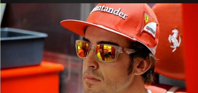 La firma fetiche de Alonso, como de muchas grandes figuras de la élite del deporte.