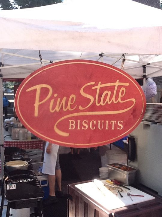 Pine State Biscuits @ PSU Farmers Market