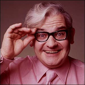 Ronnie Barker: There's a pattern forming here, lots of old comics. Ronnie Barker, what a performer! He could deliver the funniest lines without even a flicker of a smile while all around him were trying desperately not to laugh.