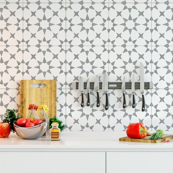 Carrelage Adhesif Pour La Decoration Style De Fez Moyen Etsy