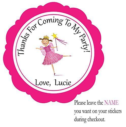 Pinkalicious -Se of 12 Individual Pre-cut Peel and Stick Party Favor Stickers- Birthday Custom Labels Treat Favor Round Tags BeautyAndBrainsGirls http://www.amazon.com/dp/B013GPGODC/ref=cm_sw_r_pi_dp_25.Mwb0C9WWGP