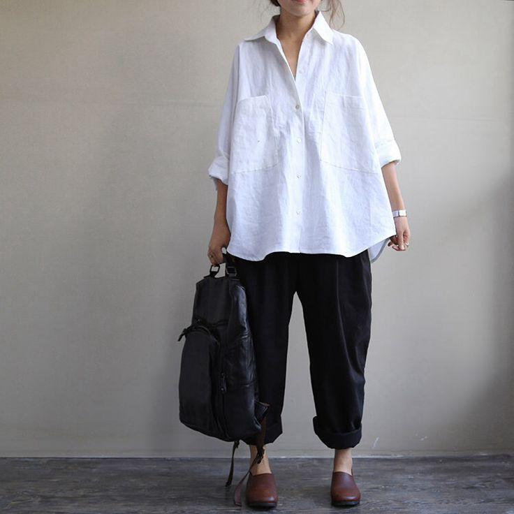 White shirt - love this