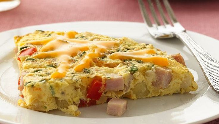 Looking for a one-pot bacon skillet? Then check out this great frittata perfect for breakfast.