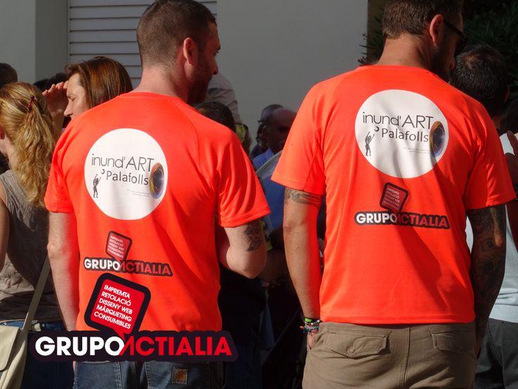 Grupo Actialia patrocina la 1ª Trobada i Mostra d'Art Multidisciplinari en Palafolls, organizado por la asociación Inund'Art de Girona. Más información en www.grupoactialia.com