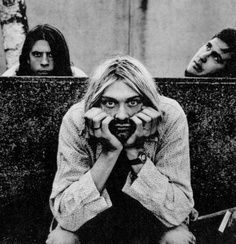 Nirvana. In Utero sessions.