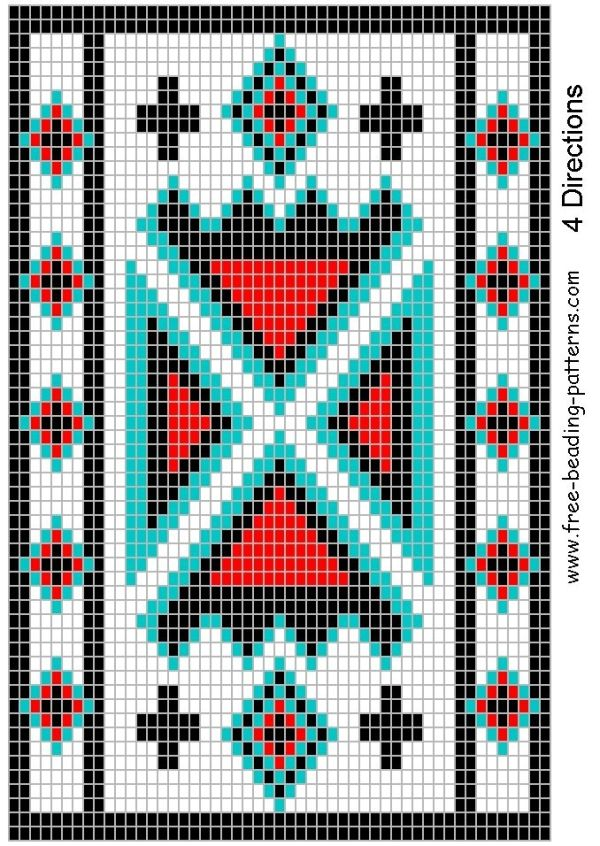 427 Best Native American Seedbead Patterns Images On