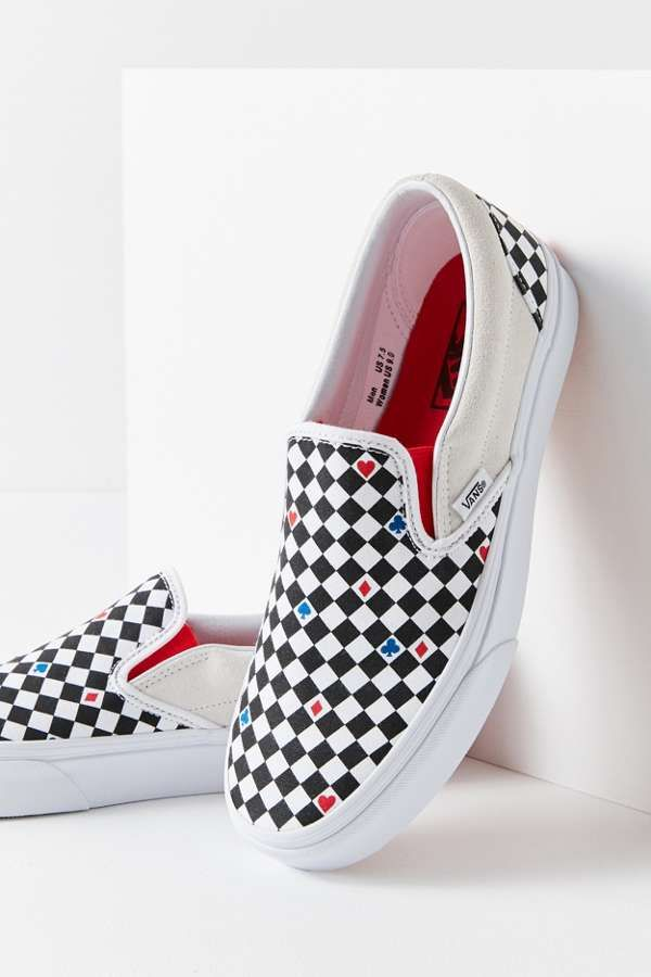 86e821695117ac Vans UO Exclusive Playing Card Classic Slip-On Sneaker in 2019 ...