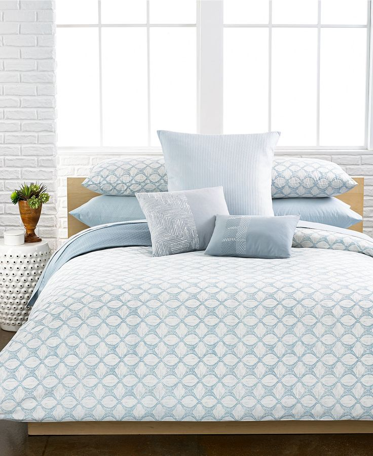 Calvin Klein Largo Comforter and Duvet Cover Sets - Bedding Collections -  Bed & Bath -