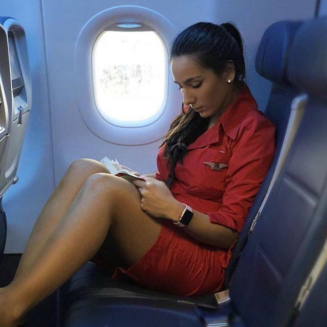 стюардессу отели в самолете анальные