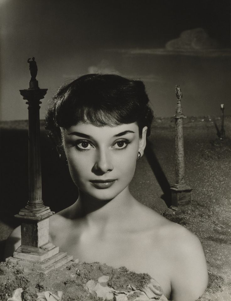 Audrey Hepburn by Angus McBean, 1951. | Rare Photos Of Audrey Hepburn Remind Us Why She's Still A Style Icon