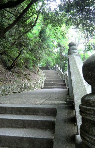 Vers le sommet de Konpira-san. #kagawa #japon #escaliers #konpirasan