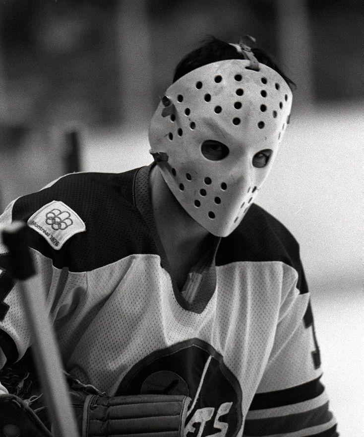 Pin By John On Vintage Hockey Ice Hockey Goalie Mask Hockey