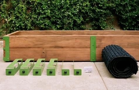 Scout Regalia Patio Garden Kit - brackets - you provide the wood.