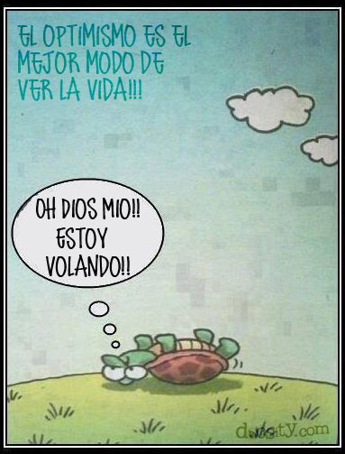 #cita el #optimismo es el mejor modo de ver la #vida..