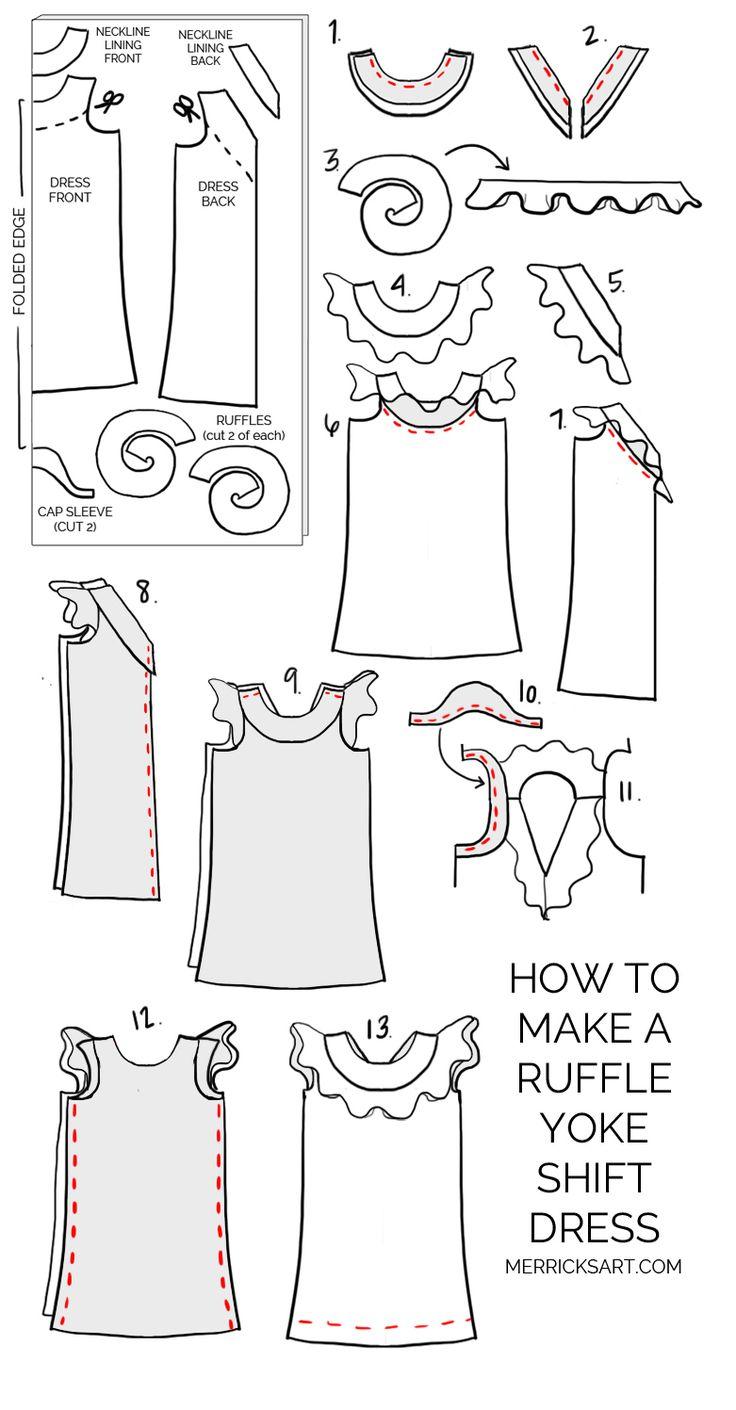 479 mejores imágenes de Sewing en Pinterest | Modelado, Patrones de ...