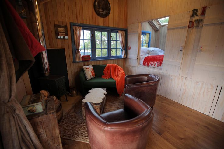 LIving room in Upscale Bothy as seen on George Clarke's Amazing Spaces
