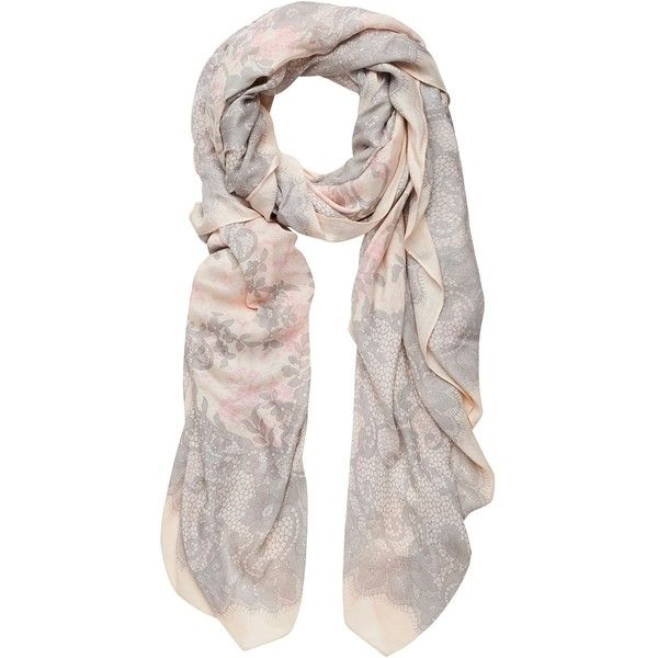 Forever New Courtney Lace Print Scarf
