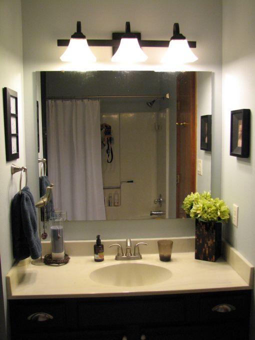 Redecorate Bathroom On A Budget On A Small Budget My Very Small Master Bath Needed Some
