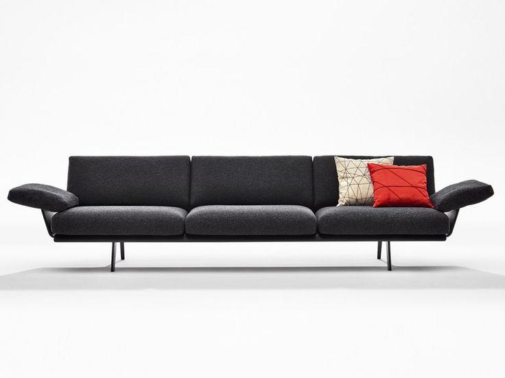 Divano Imbottito Modulare ZINTA LOUNGE Collezione Zinta By Arper | Design  Lievore Altherr Molina