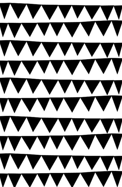 GRAPHIC | TRIANGLE: Tooth Patterns, Prints Patterns Wallpapers, Phone Wallpapers, Black White, Photo Shared, Graphics, Ashley Goldberg, Triangles Patterns, Phones Wallpapers