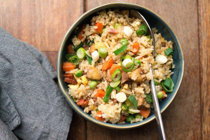 Deze Chinese nasi, geïnspireerd op een recept van The Dumpling Sisters, is al een tijdlang een van onze favoriete maaltijden voor doordeweeks.