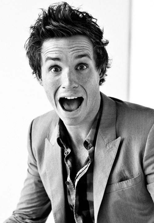Eddie Redmayne, everyone. Seriously just look at the freckles. How can you not be in love?