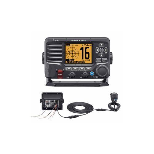 Icom M506 VHF Fixed Mount w/Rear Mic AIS & NMEA 0183/2000® - Black