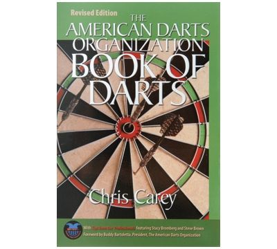 """Carey's """"Book of Darts"""" - This revised edition by the American Darts Organization includes the rules of darts, how to play twelve popular games, and more."""