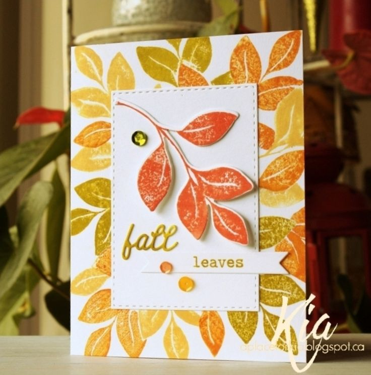 Splitcoaststampers FOOGallery - Falling into Fall