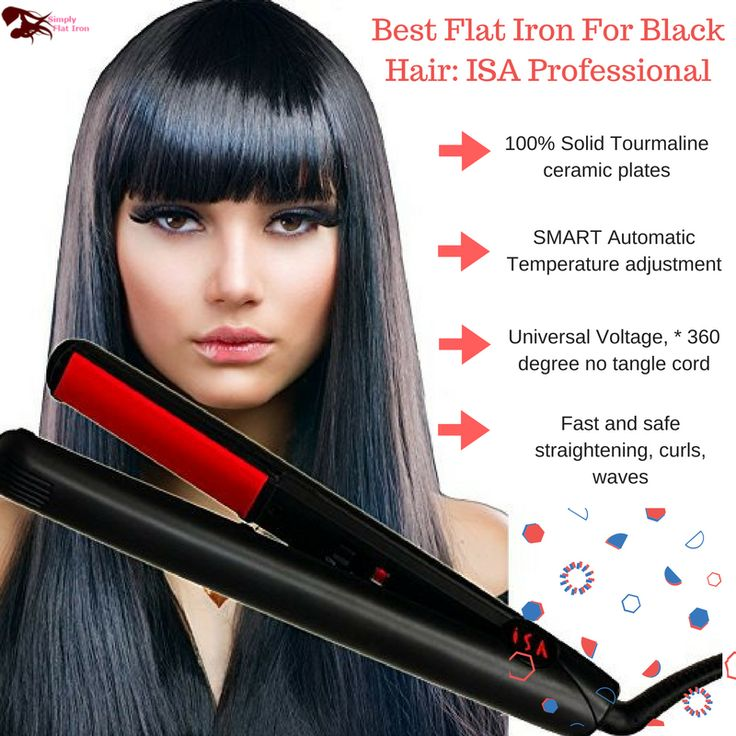 Should you buy this Best Flat Iron For Black Hair? Of course, yes! http://www.simplyflatiron.com/best-flat-iron-black-hair-isa-professional-flat-iron-review-revealed/ #ISA #Professional