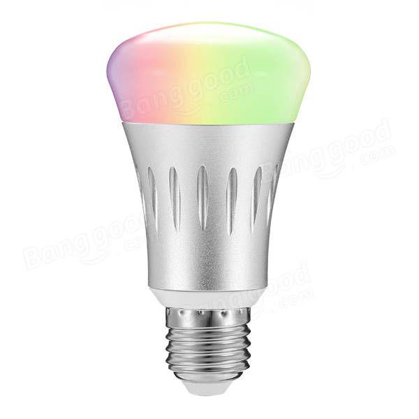 ARILUX® E27 8W RGB + White Dimmable Smart WIFI LED Light Bulb Works with Amazon Alexa Echo AC85-265V Sale - Banggood.com