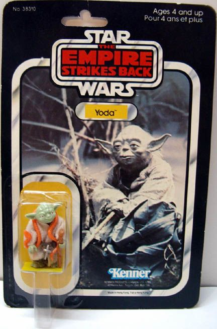The original Kenner Star Wars figures immediately take me back to the early '80s. I miss toys.