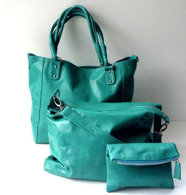 Babushka Tiffany Leather Bag