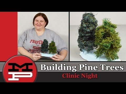 MPRR Clinic - Building Pine Trees - YouTube